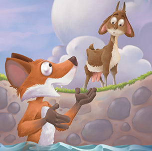 Fox In Well